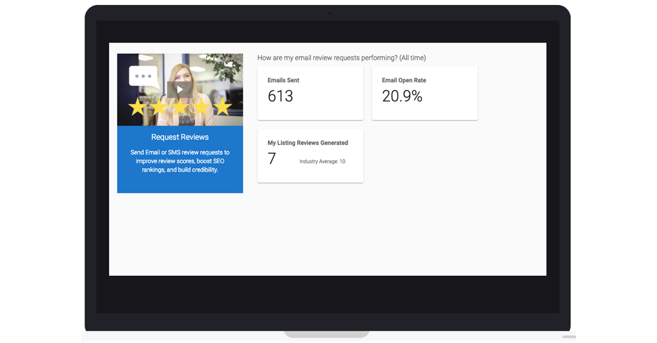 Insights Screen of Customer Voice