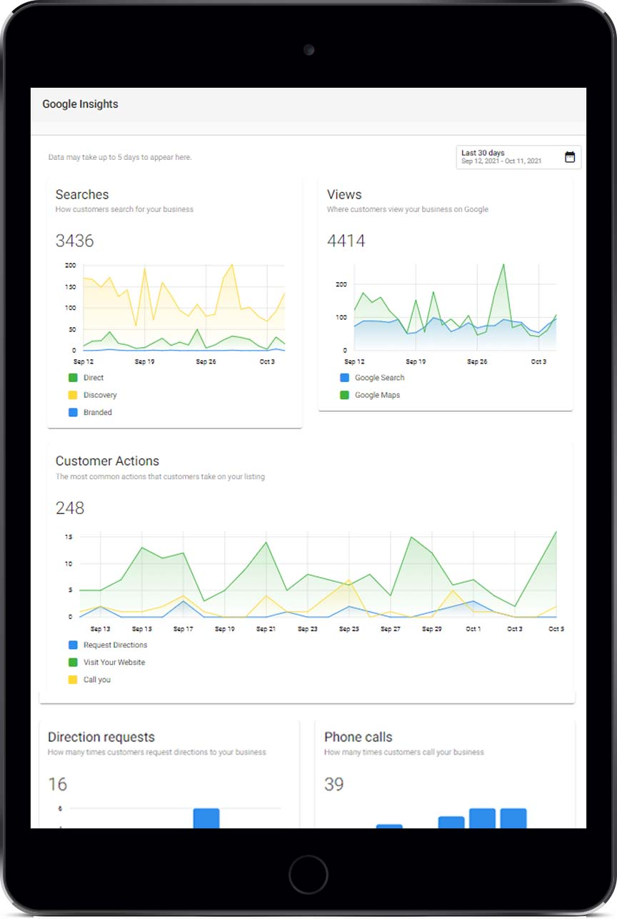 Google Insights with Listing Optimization Suite